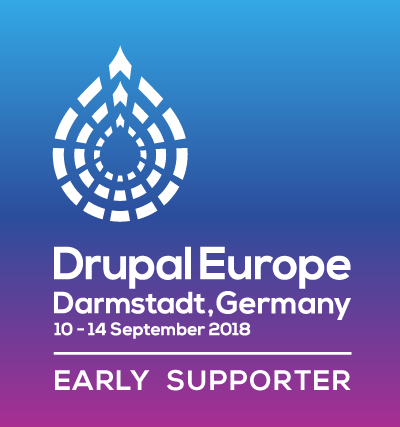 Drupal Europe - Early supporter